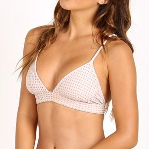 Acacia Swimwear Mesh Awapui Top in Foam White
